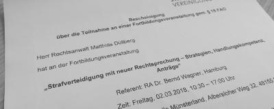 02.03.2018: Fortbildung in Münster
