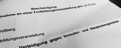 24.06.2020: Fortbildung in Essen